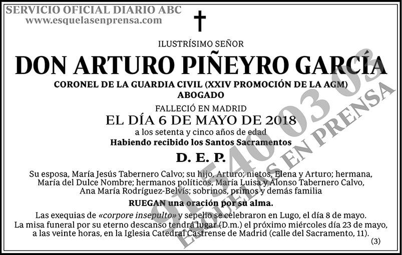 Arturo Piñeyro García